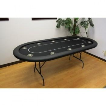 10 Player 84 Poker Tables Black_2