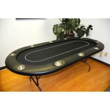10 Player 96 Poker Tables Black_1