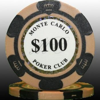 25 2tone monte carlo poker club 100 poker chips