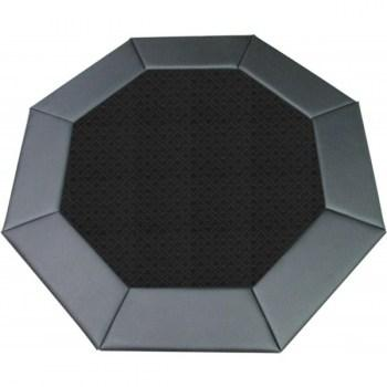 48 Octagon Poker Table Top Black-1