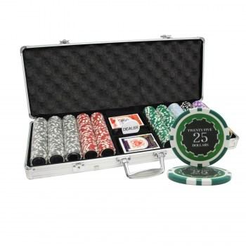 500PCS 14G ECLIPSE POKER CHIPS SET With ALUM CASE