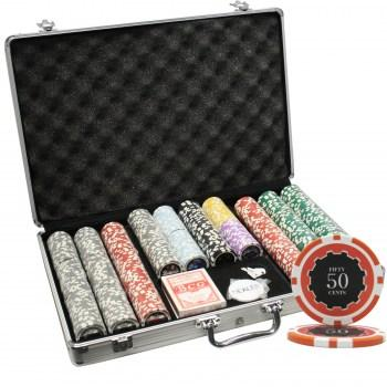 650PCS 14G ECLIPSE POKER CHIPS SET WITH ALUM CASE