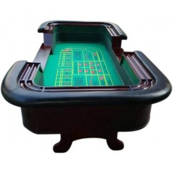 98 Standard Craps Table with Chip Rail Arm Rest_2