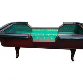 98 Standard Craps Table with Chip Rail Arm Rest_3