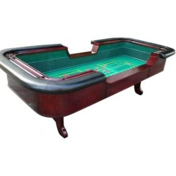 98 Standard Craps Table with Chip Rail Arm Rest_4