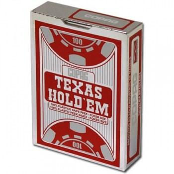 Copag Texas Hold'em Poker Size Red Peek Index_2