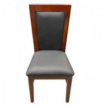 Solid Wood Poker Chairs Mahogany Color2