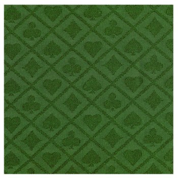 Suited Speed Poker Table Cloth Waterproof (Green)8