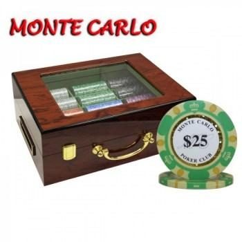 monte carlo poker club high gloss